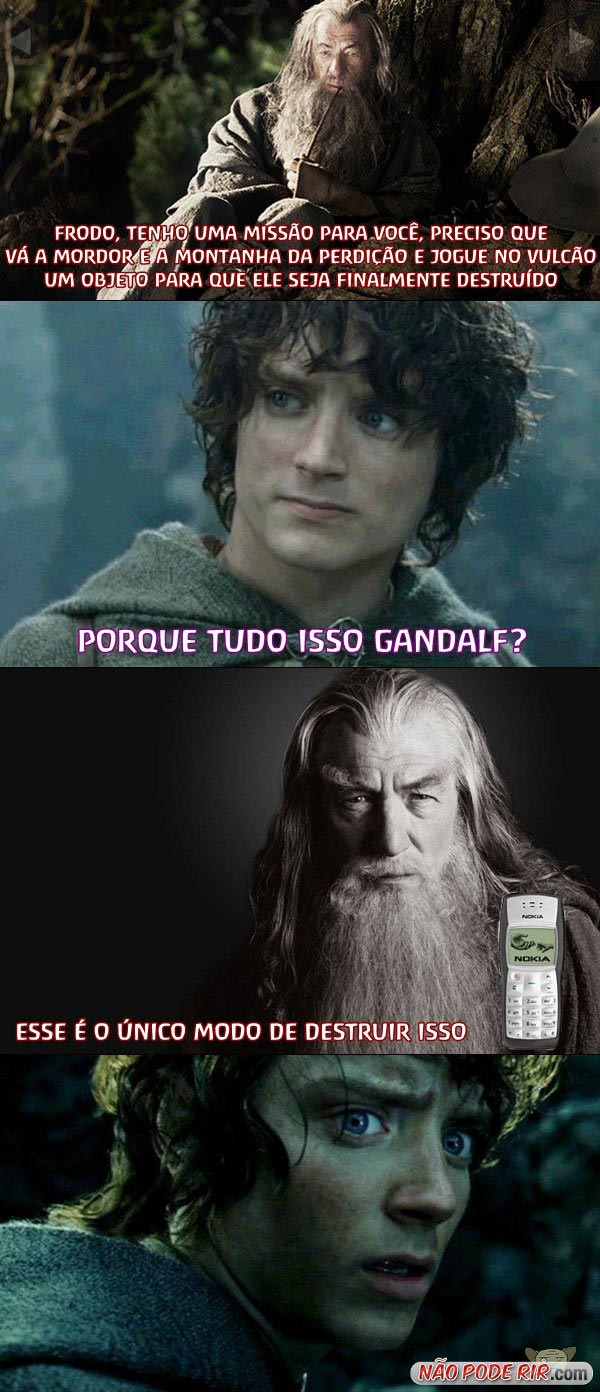 mordorfrodogandalf [Humor] A saga do 1100
