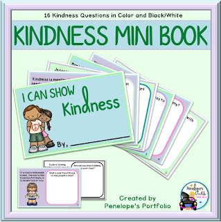 I Can Show Kindness Social Skills Mini Book