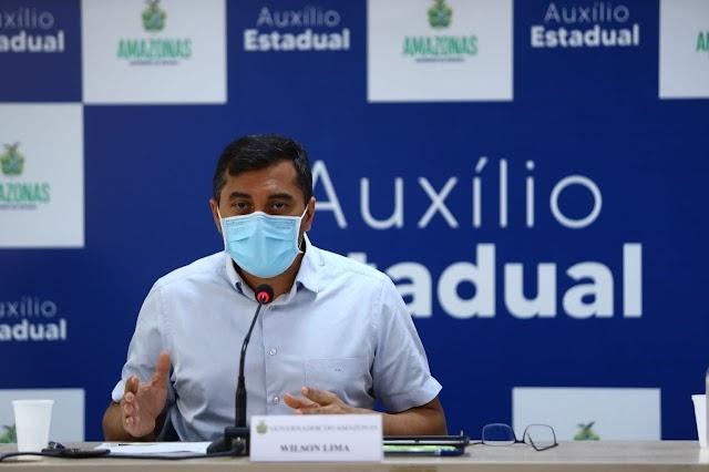 O senador pelo Amazonas pede inclusão do governador Wilson Lima na lista de indiciados da CPI da Covid-19