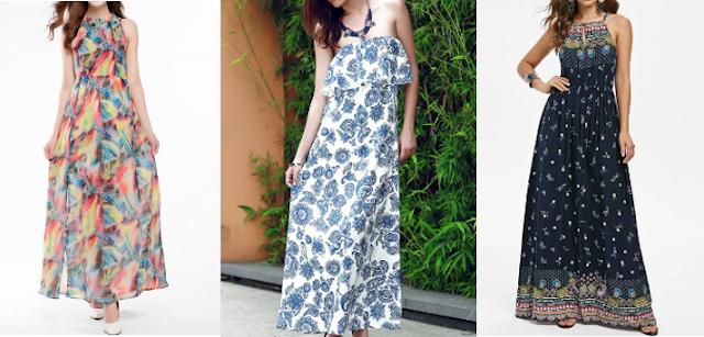maxi dress - dresslily