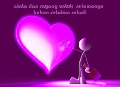 Kata kata Cinta dan Sayang