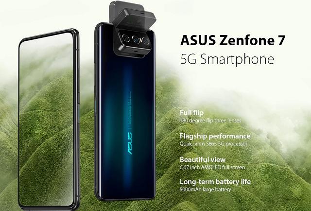 ASUS Zenfone 7 specification