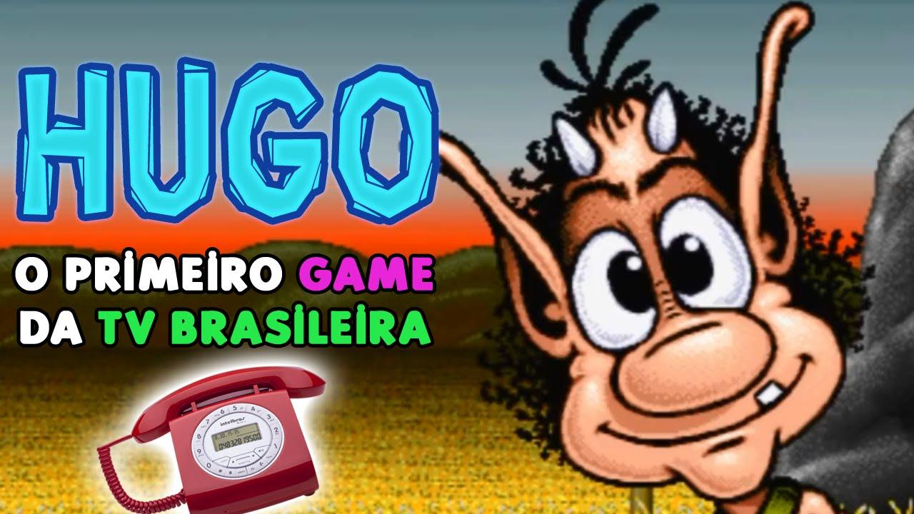 Hugo: O 1º Game da TV brasileira! ft. Gato Galactico ...