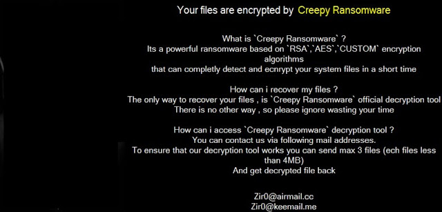 Creepy (Ransomware)