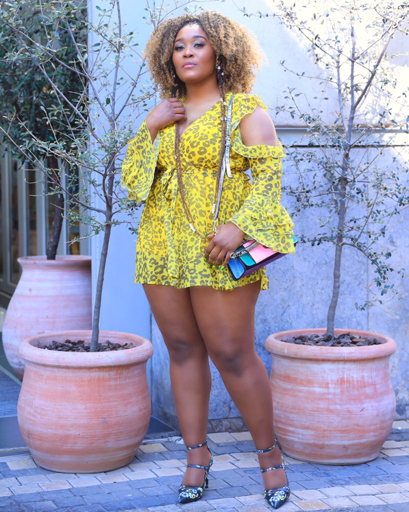 Lady Zamar Flashes Her Thick Legs and Sjava Starts Trending AGAIN!