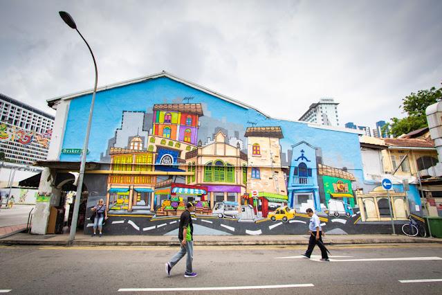 Murales-Little India-Singapore