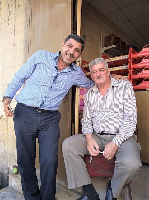 uomini a salt in giordania