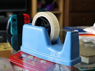 KOKUYO T-M12Bテープカッターで使用しています丈夫な透明テープ ダイソー