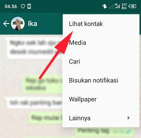 cara mengubah nada notifikasi kontak whatsapp