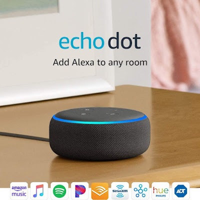 Echo Dot 3rd Generation - Echo Dot Setup - Alexa Echo Dot - Echo Dot With Clock