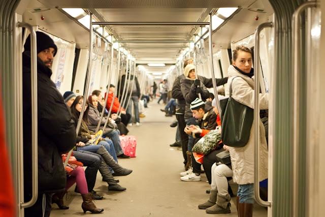 poza la metrou