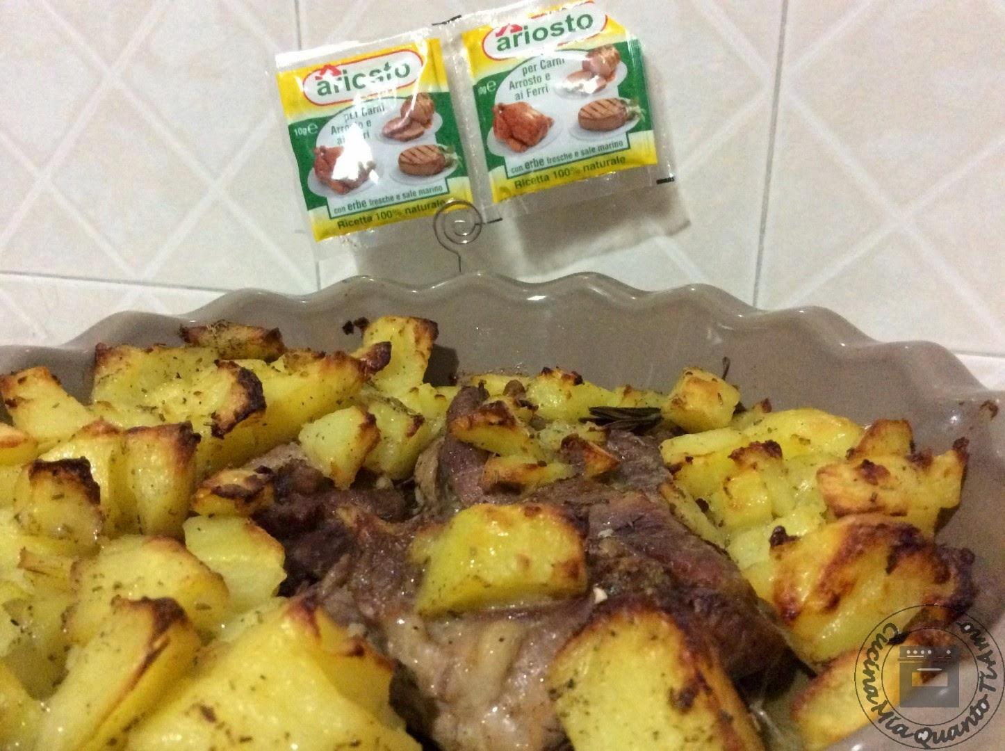 Ricetta Ossobuco Benedetta Rossi.Cucina Mia Quanto Ti Amo Ossobuco Di Tacchino Con Patate Al Forno