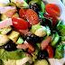 Avocado, Cucumber And Mozzarella  Salad With Chessy Sauce Delicious & Healthy