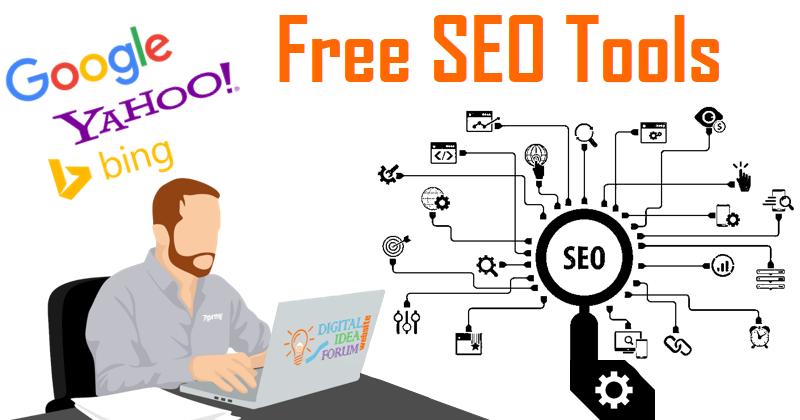 Free SEO Tools to Improve Search Ranking - Digital idea Forum
