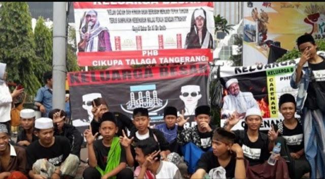 Anggota FPI di Bawah Umur Nyatakan Perang Jika Prabowo Kalah