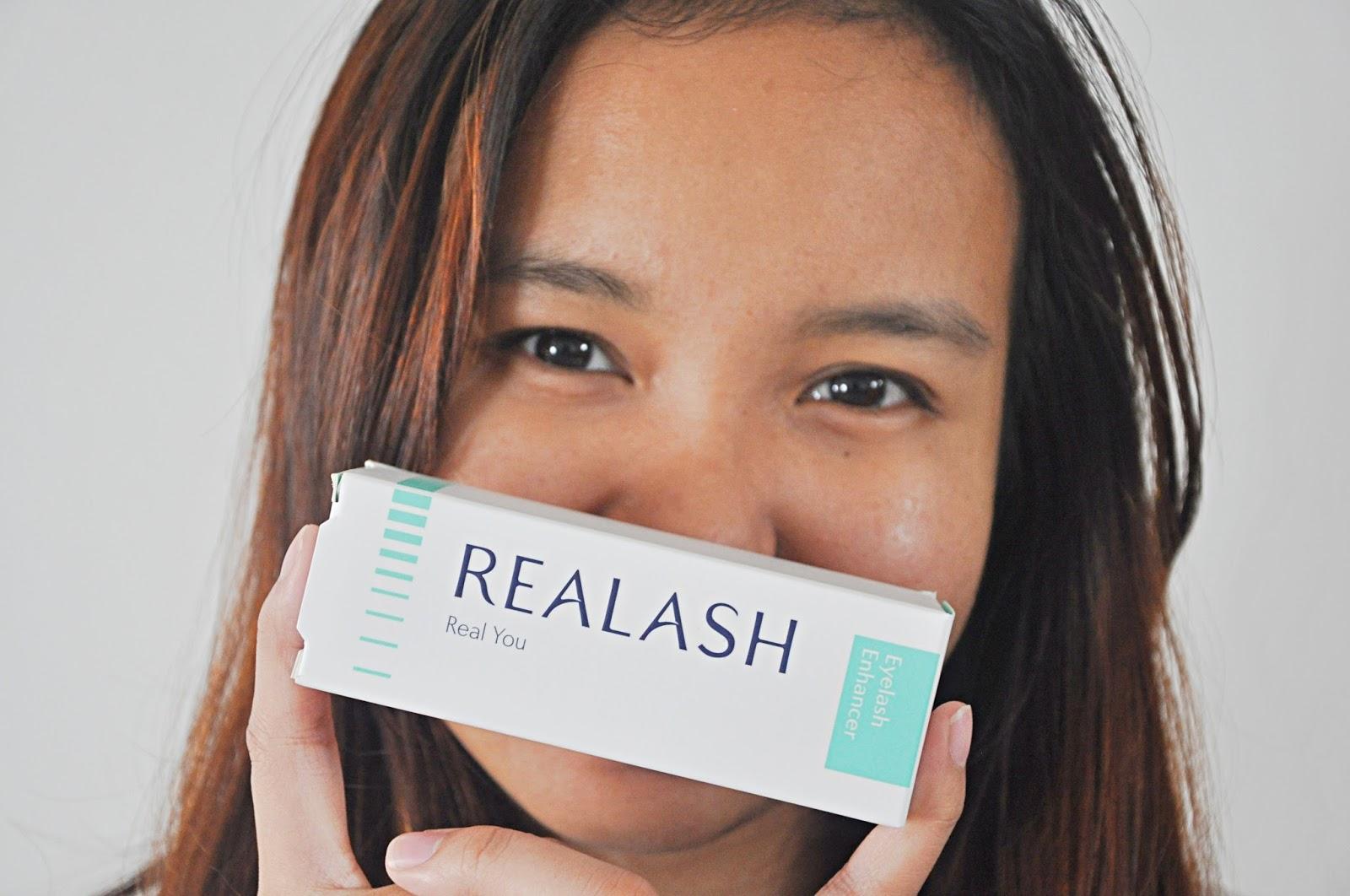 Sara Wanderlust Results Realash Eyelash Enhancer And