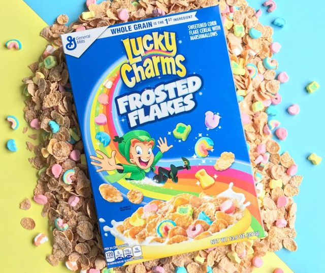 Lucky Charms Frosted Flakes Land On Store Shelves