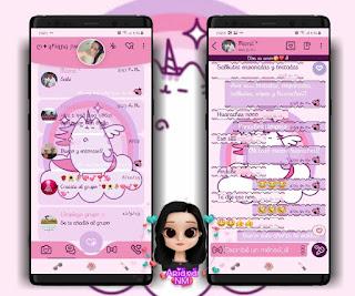 Pushen Theme For YOWhatsApp & Fouad WhatsApp By Ariana