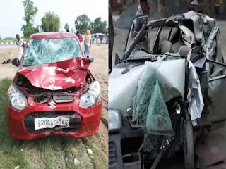 बिहार में हादसों की सुबह! सड़क दुर्घटना में गोपालगंज में 2 और कटिहार में 3 लोगों की मौके पर ही मौत