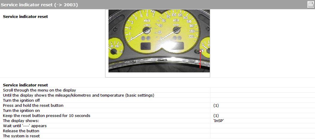 nitrobilisim : how to reset oil service light manualy