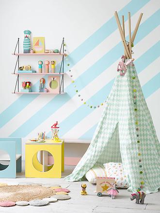 ideas para pintar las paredes del cuarto de los niños