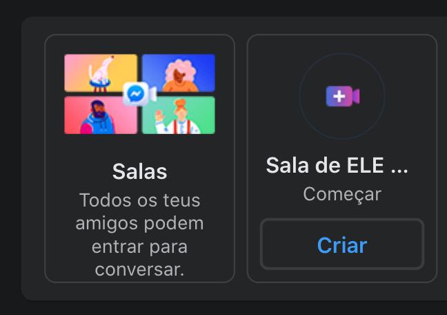 Facebook lança funcionalidade Sala de Conversa!