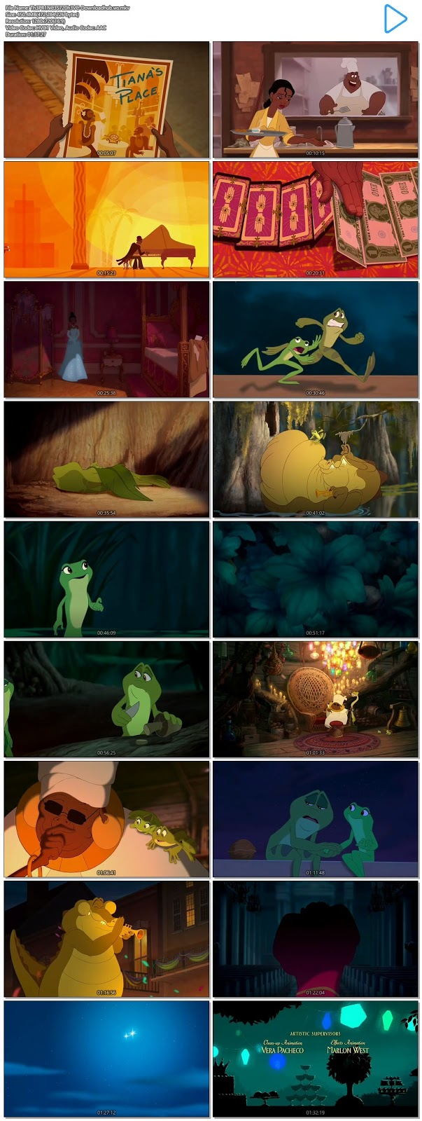 The Princess and the Frog 2009 Hindi Dual Audio 720p HEVC BluRay Free Download