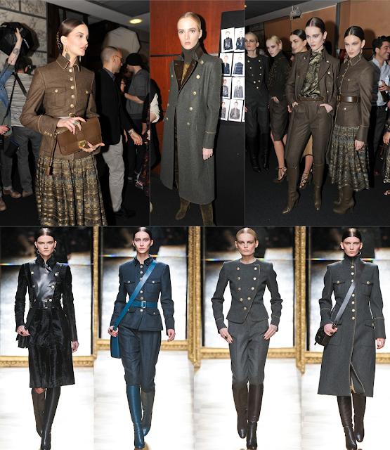 Military chic Trend - Salvatore Ferragamo - Fall Winter 2012