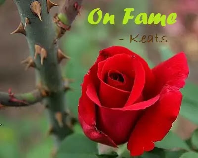 Summary and Analysis of Keats's Sonnet, On Fame
