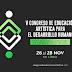 Participación de Daniel Rojas Pachas en el V Congreso de Educación Artística para el desarrollo humano - ICL