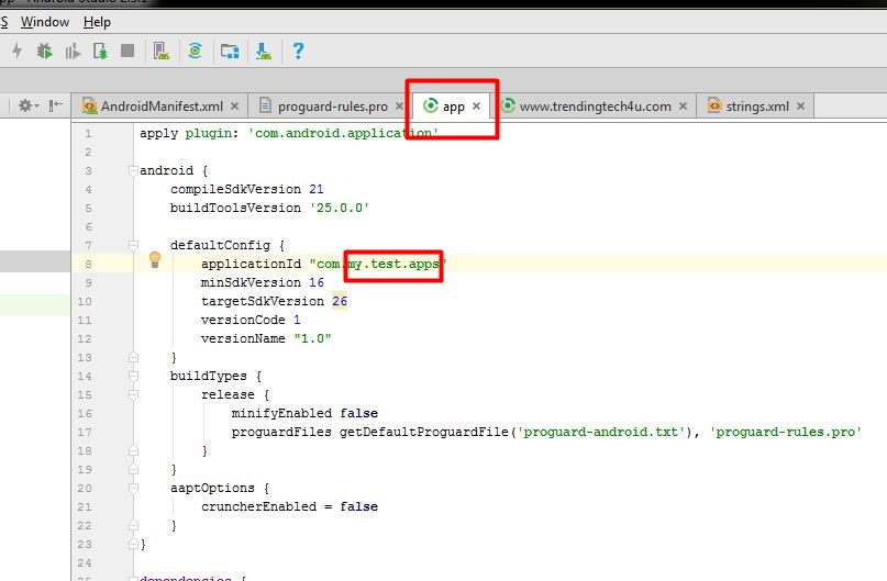 Convert Website to Android Application using Android Studio without