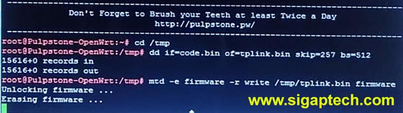 Cara Mengembalikan Firmware TP Link MR3420 V5 Dari OpenWRT ke Original