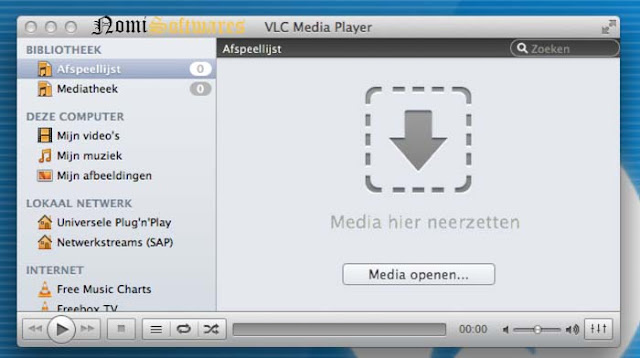 VLC Media Player For Mac OS X  Free Download