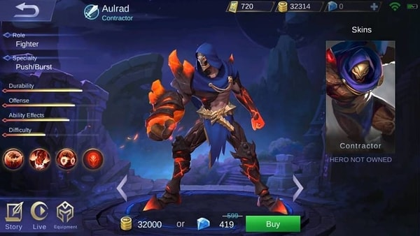 Mobile Legends new Hero Aulrad