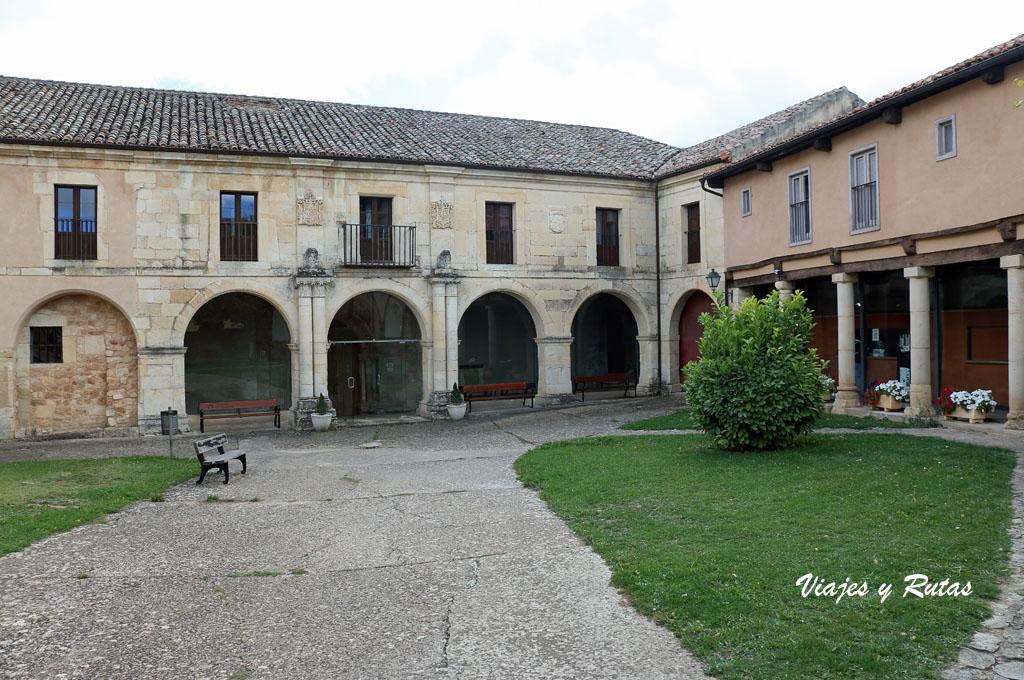 Entrada a San Miguel del Arroyo, Palencia