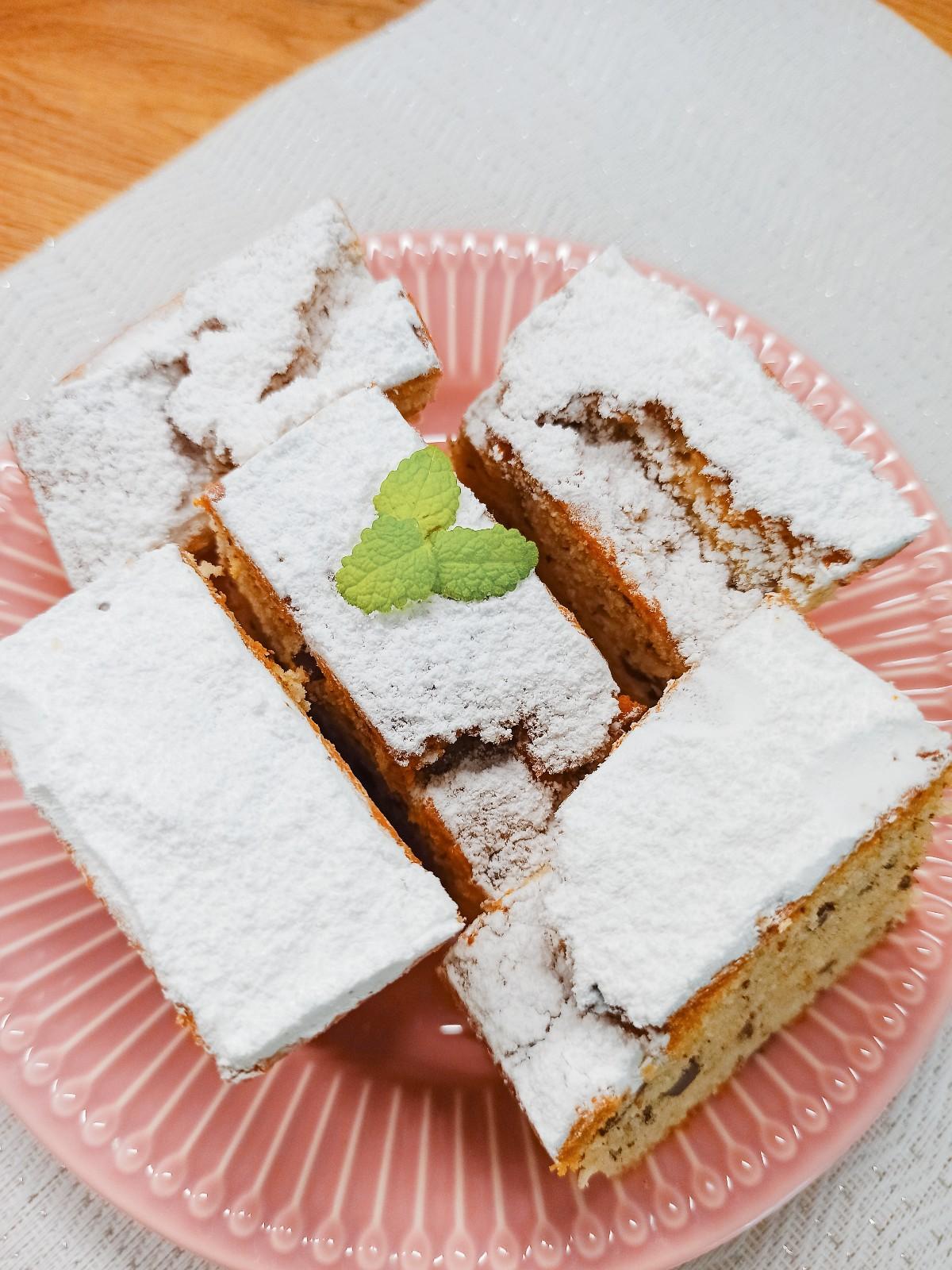 Ciasto z ricottą i czekoladą