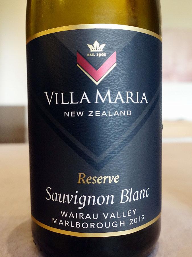 Villa Maria Wairau Valley Reserve Sauvignon Blanc 2019 (90+ pts)