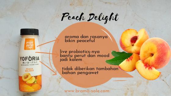 Yoforia peach delight