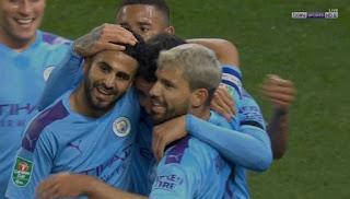 اهداف مباراة مانشستر سيتي وساوثهامبتون (3-1) كأس الرابطة الانجليزية