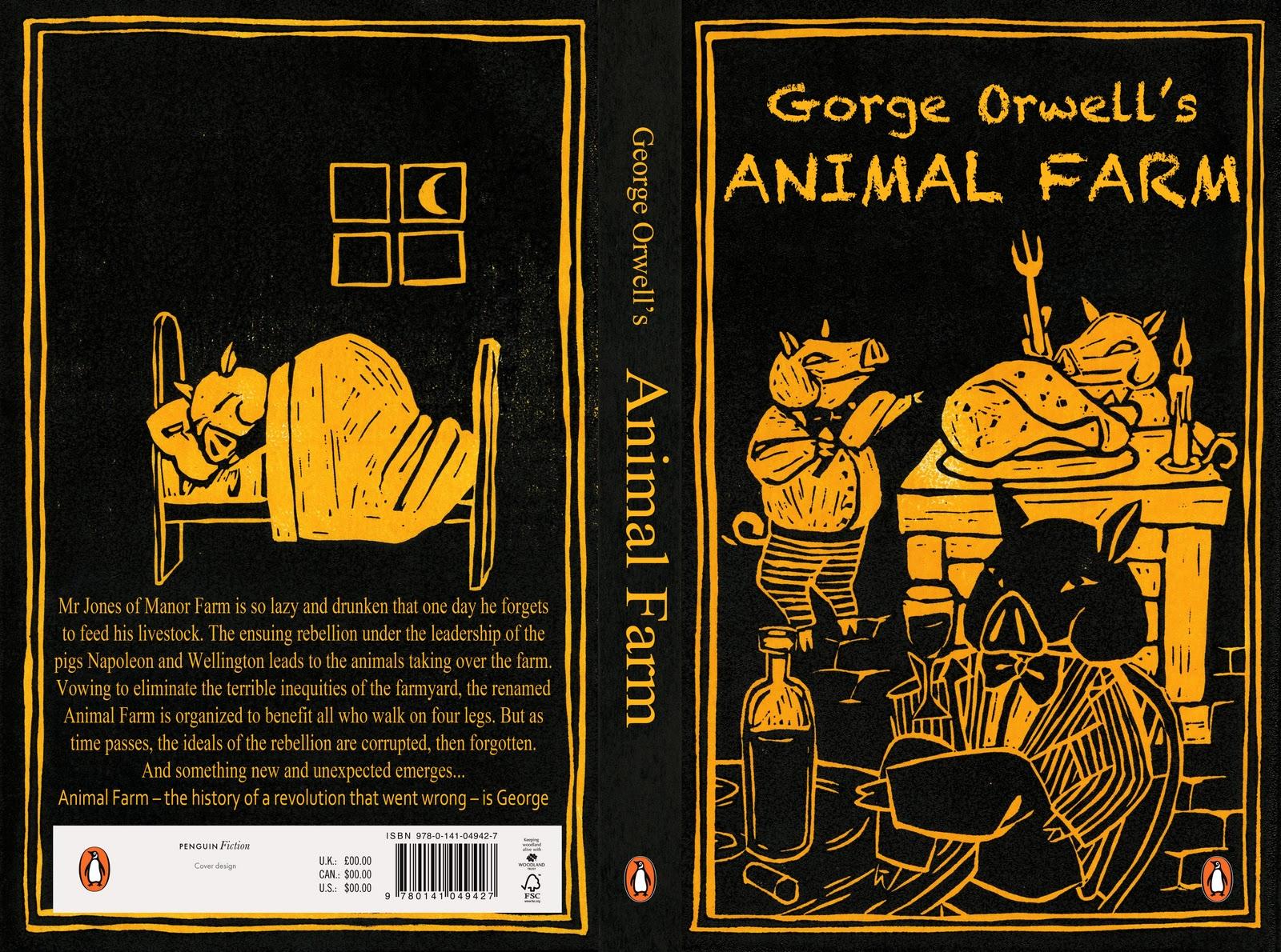 Sophie Douglas Illustration Penguin Design Awards Animal Farm