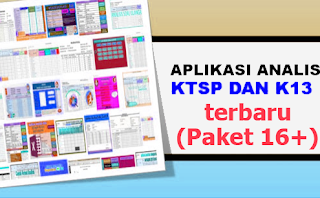Geveducation: Download kumpulan Aplikasi Analisis Ulangan Harian K13 Revisi 2017 2018 2019 dan KTSP