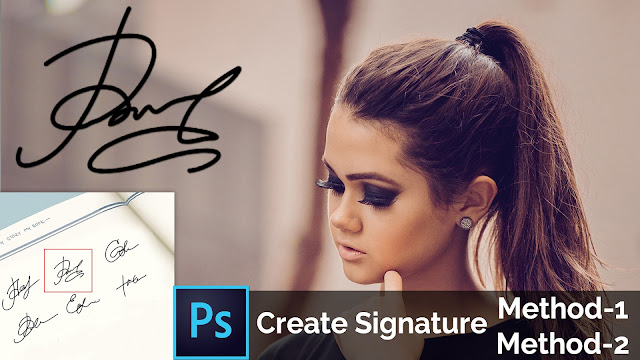 t How To Create Own Photography Signature Logo/ Watermark in Photoshop download