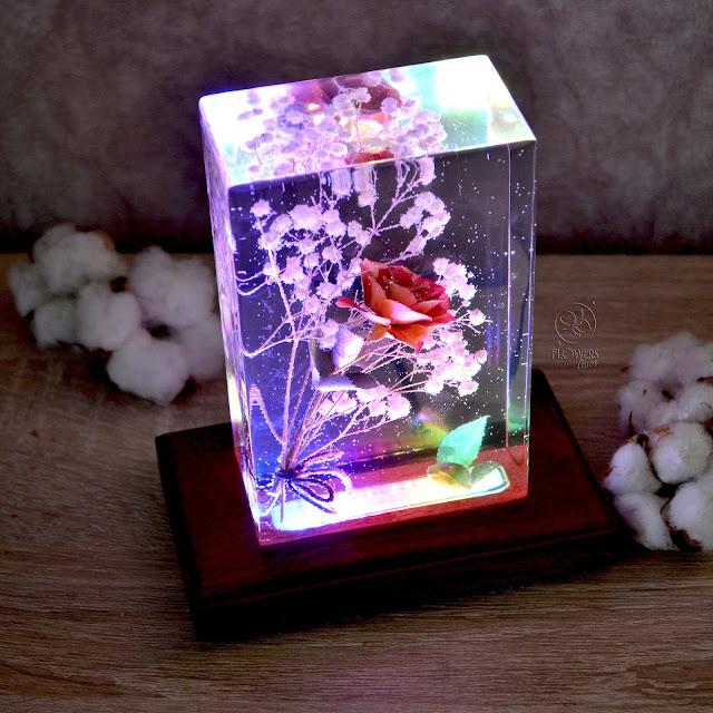 Lampu Hias Cantik Dari Resin