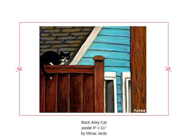 Back Alley Cat by Minaz Jantz