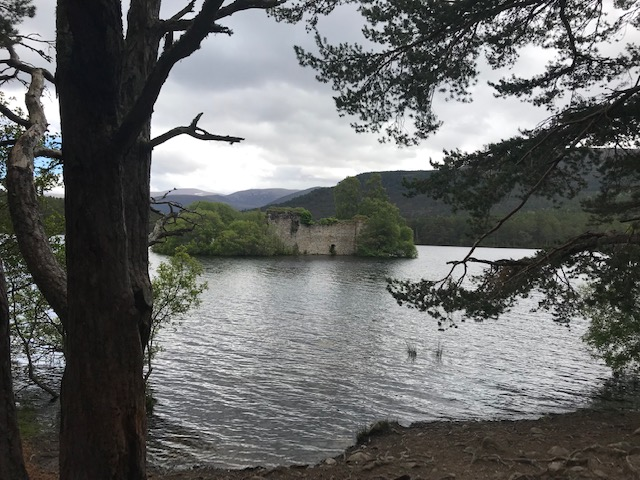 Loch an Eilein, Rothiemurchus, Scotland, Roadtrip, Scenery, Lake, Cairngorms National Park,