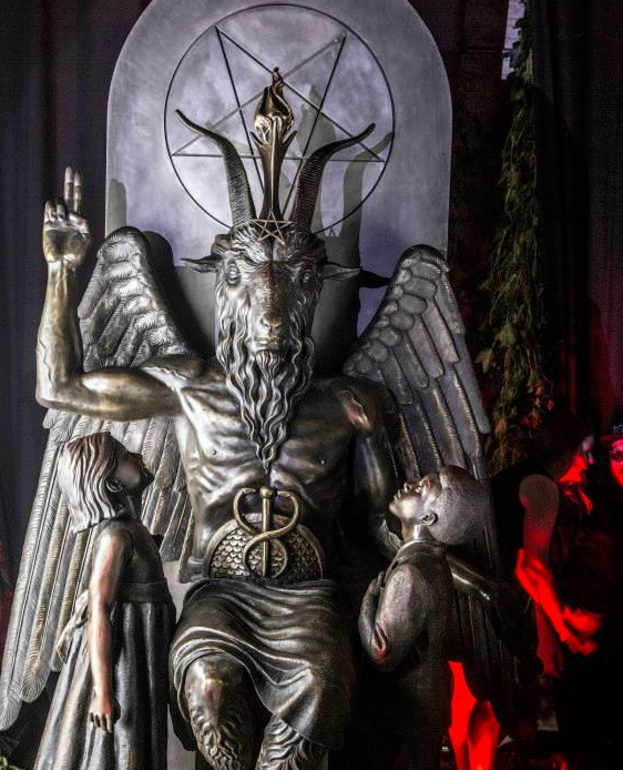 Lucifer Location: RELPLAY BLOG: Photos : Satanists Install New Statue Of
