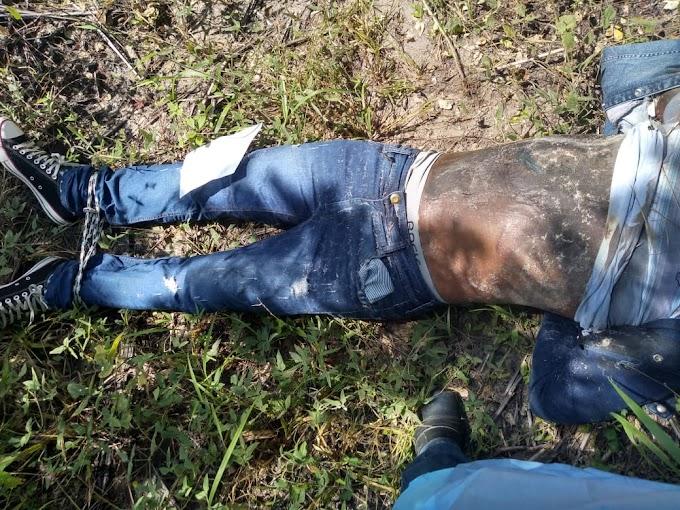 BARBÁRIE - Com requintes de crueldade, corpo é encontrado com mãos e pés amarrados em Zona Rural de Caxias