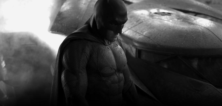 Zack Snyder Dezvăluie Prima Imagine Cu BEN AFLECK În Noua Armură A Lui BATMAN Şi BATMOBILUL Său