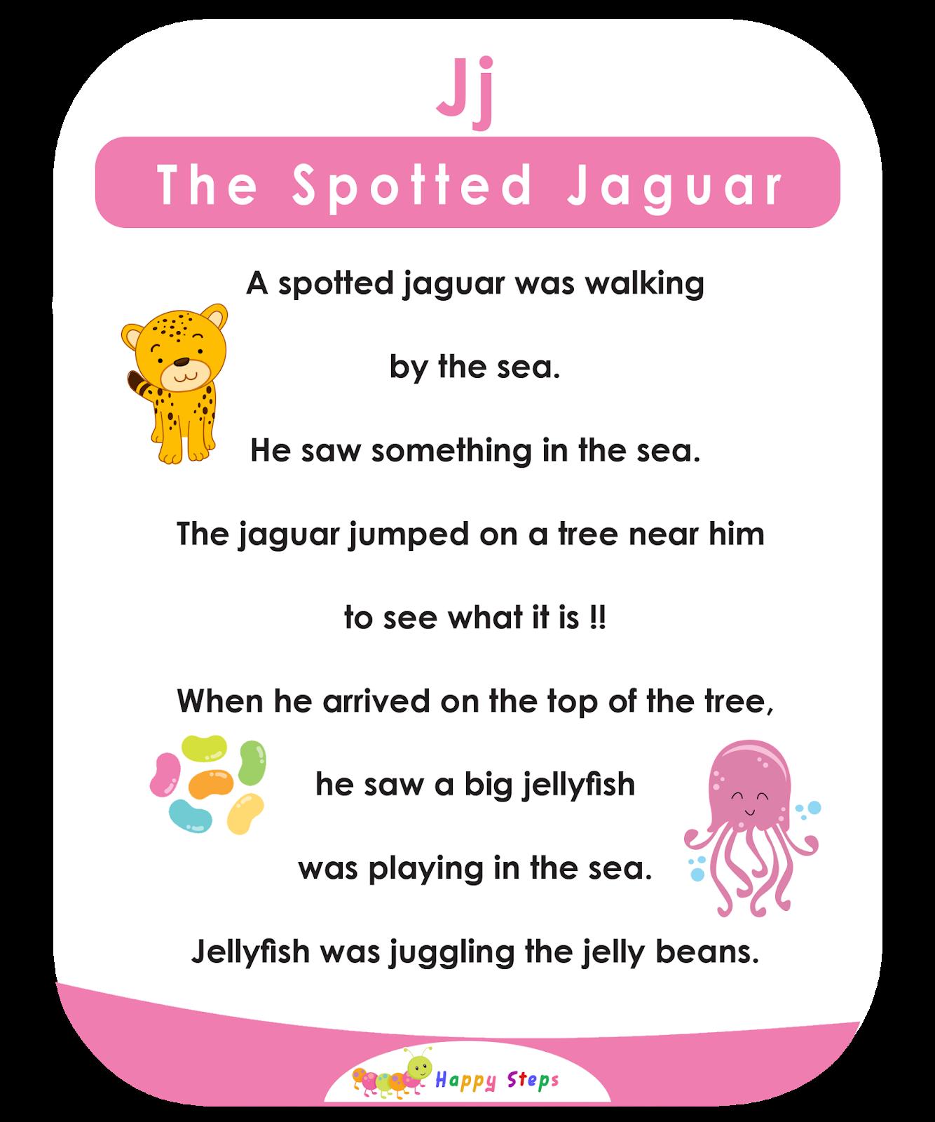 The Spotted Jaguar Alphabet Stories