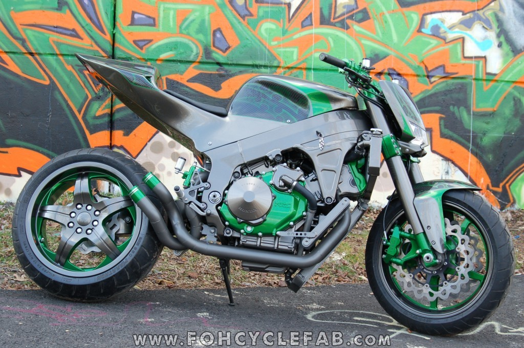 racing caf honda rc51 custom streetfighter by foh cycle. Black Bedroom Furniture Sets. Home Design Ideas